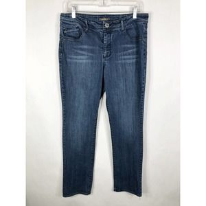 Jordache 12 Jeans Straight Leg Denim Stretch 738